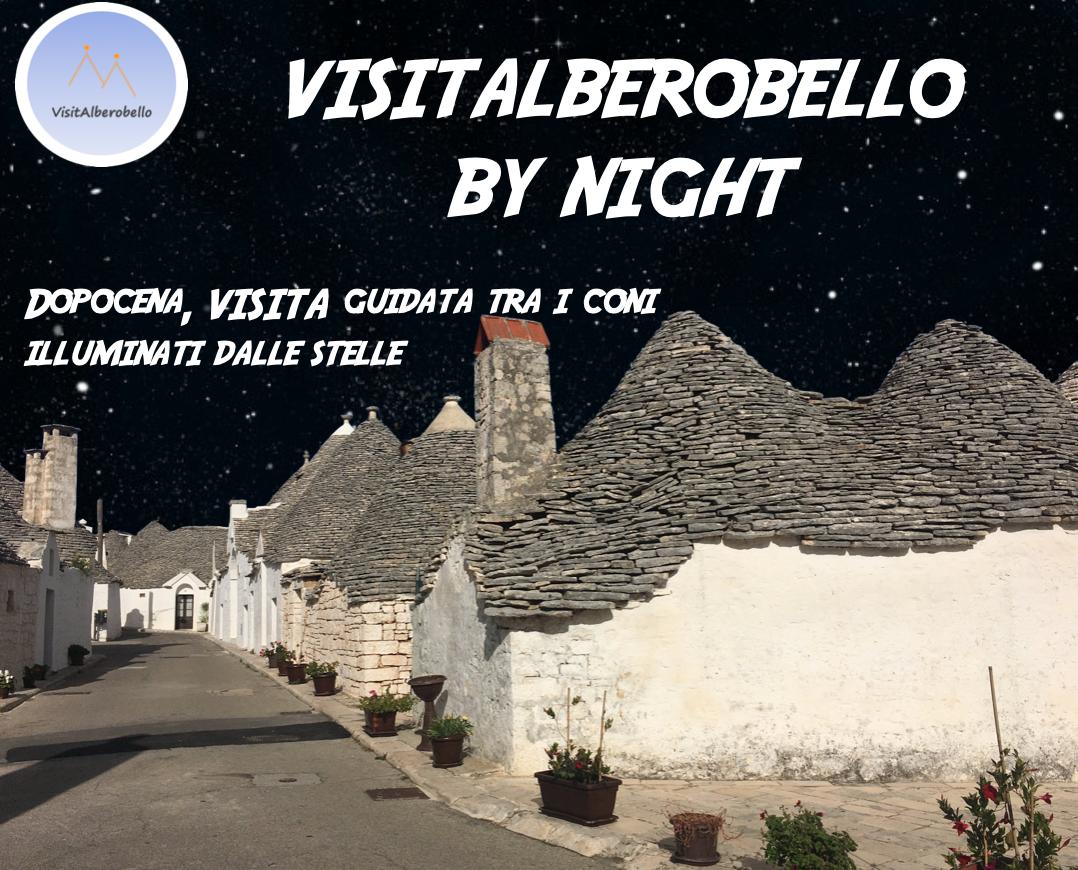 Alberobello by night